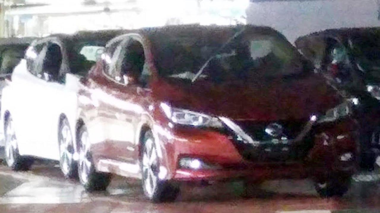 2018 Nissan Leaf Images Leaked On Internet