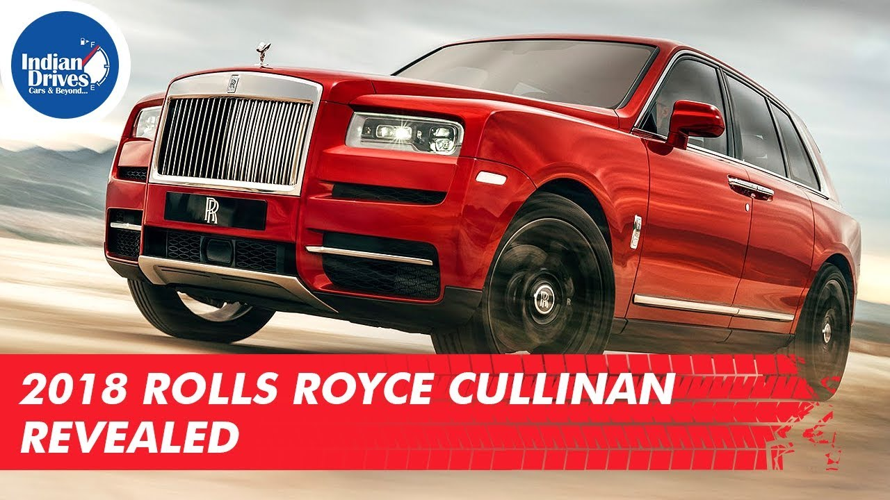 2018 Rolls Royce Cullinan Revealed