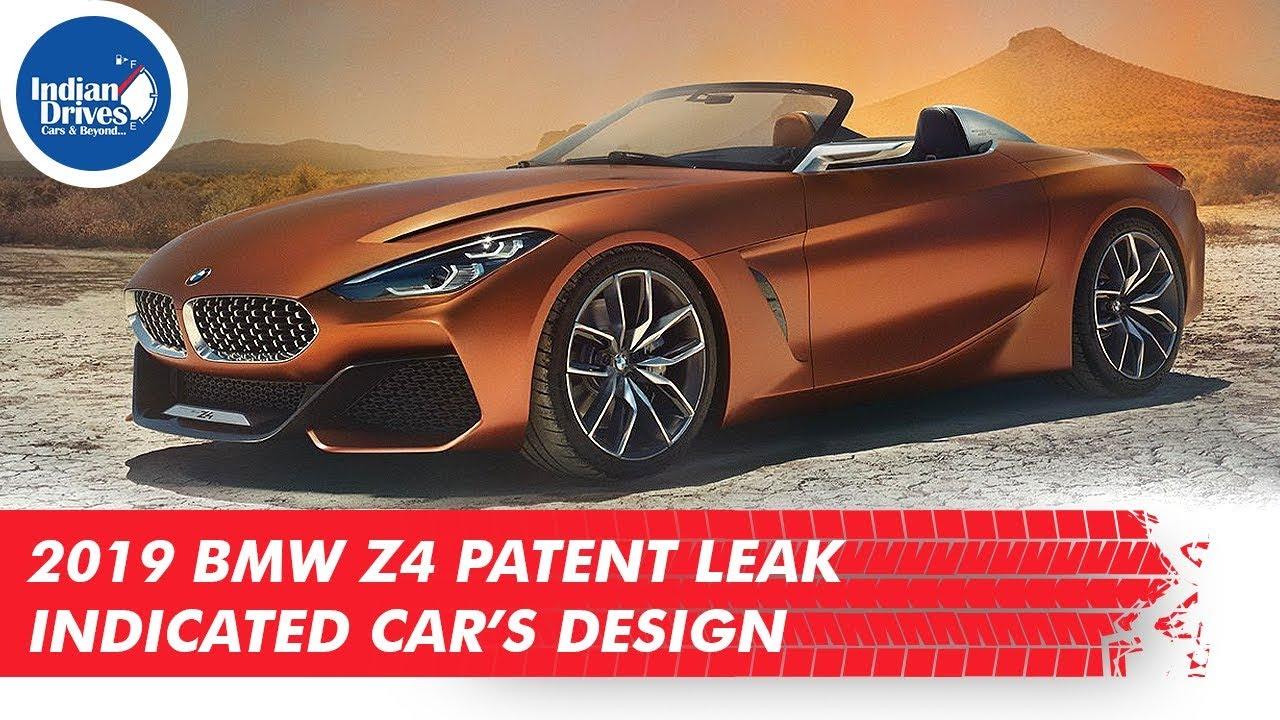 2019 BMW Z4 Patent Leak Indicated Car's Design