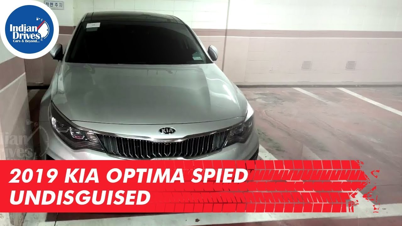 2019 Kia Optima Spied Undisguised