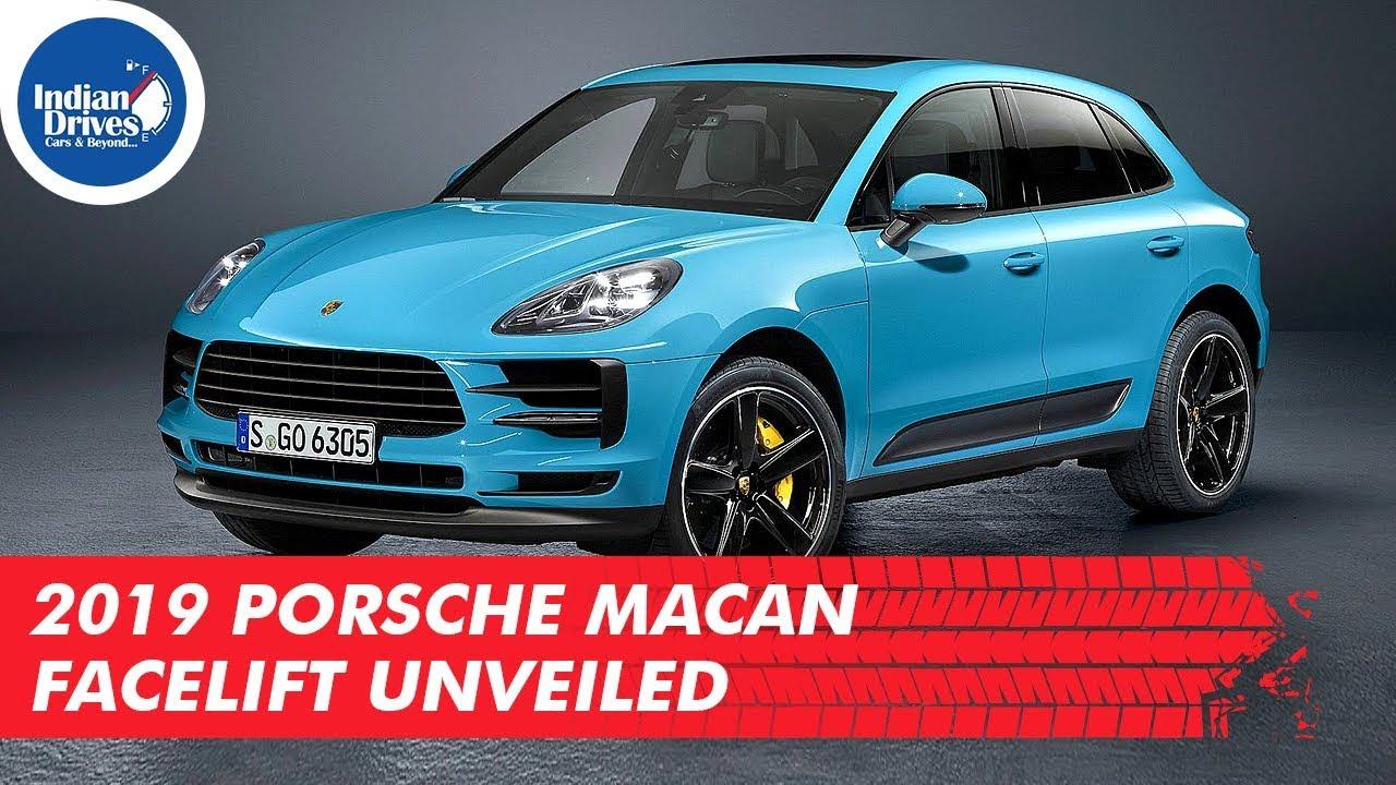2019 Porsche Macan Facelift Unveiled