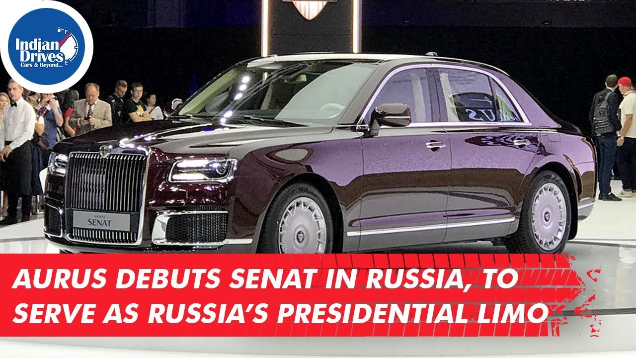 Aurus Debuts Senat In Russia, To Serve As Russia's Presidential Limo