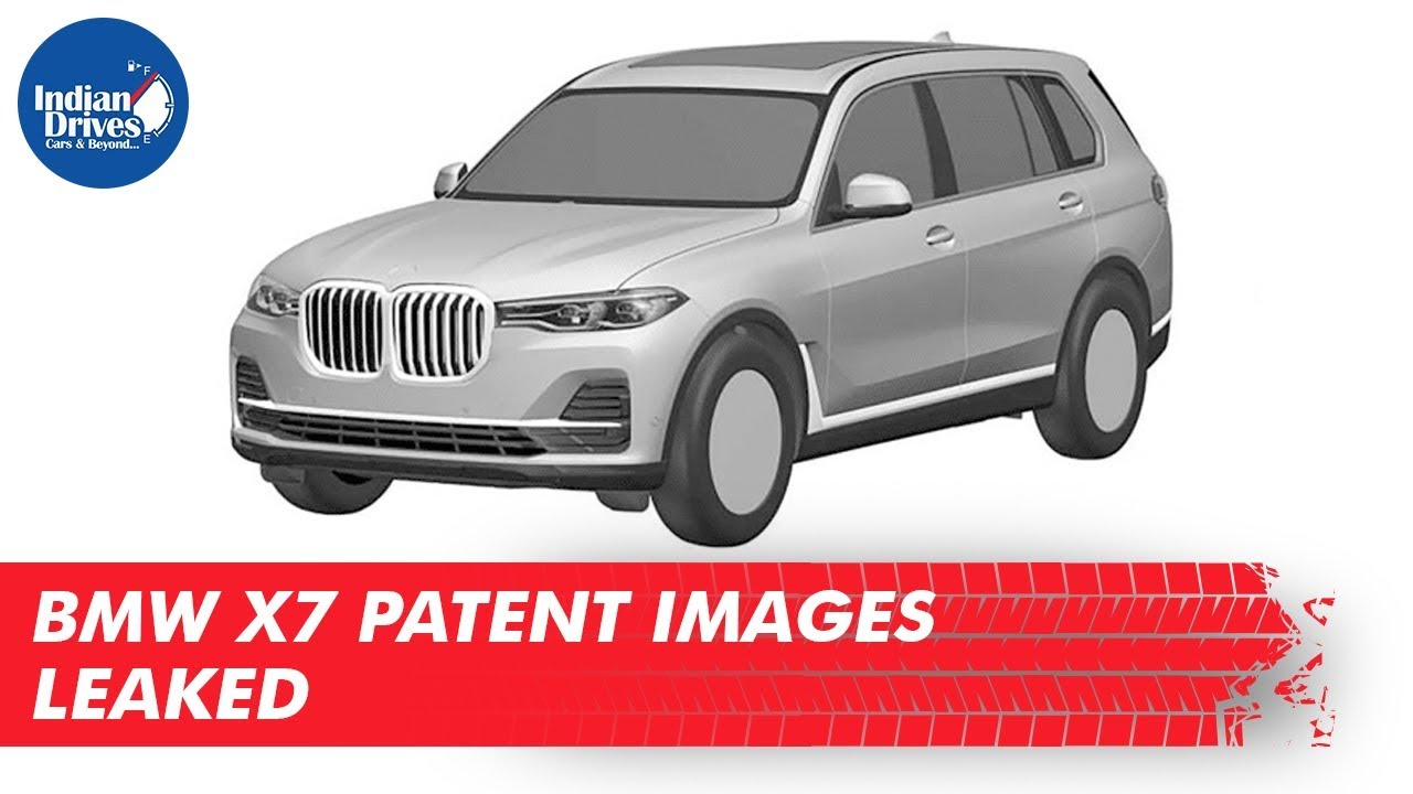 BMW X7 Patent Images Leaked