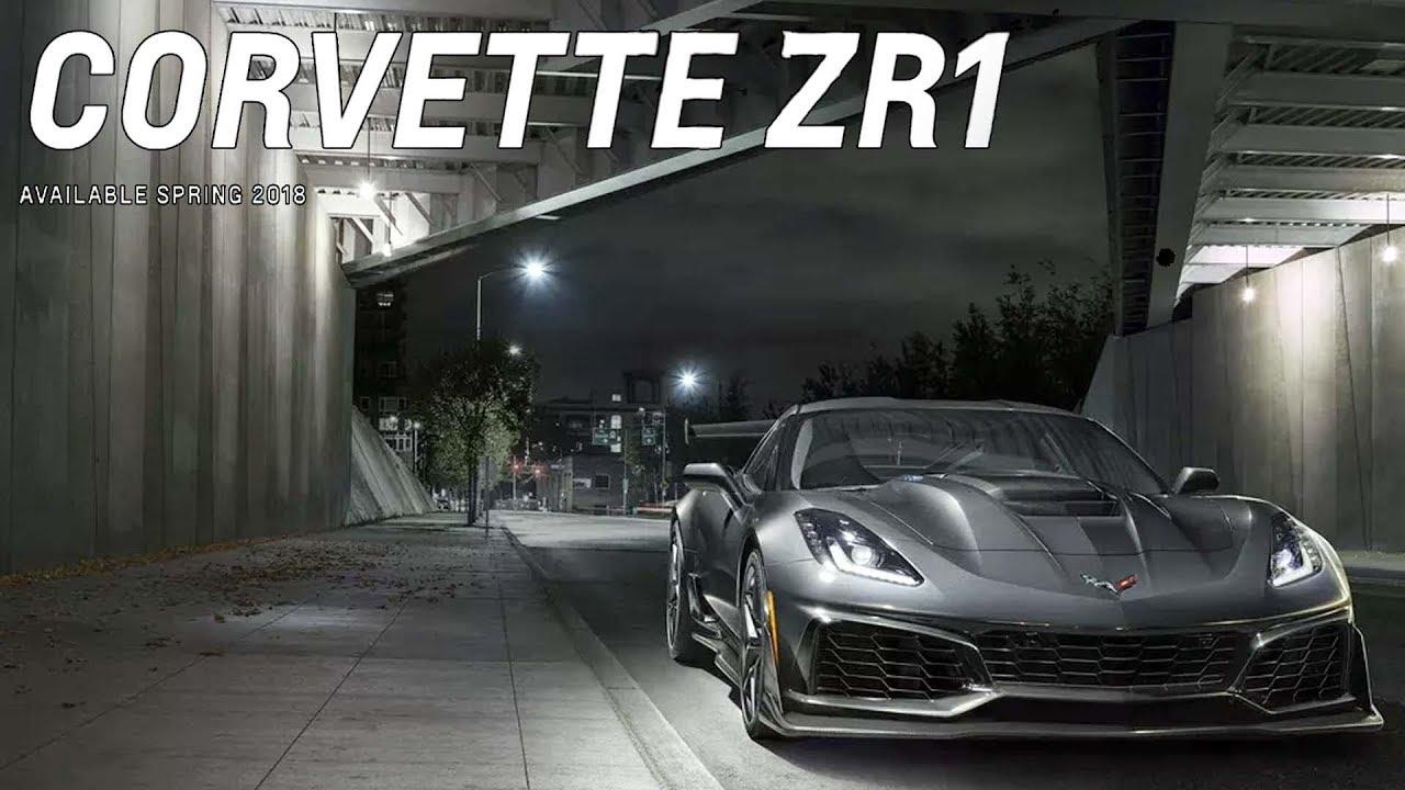 Chevrolet Corvette ZR1 Breaks Cover