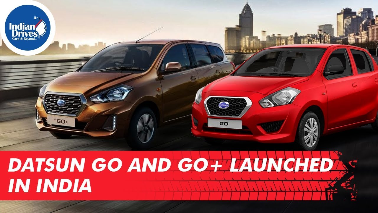 Datsun Go and Go+ Launched In India