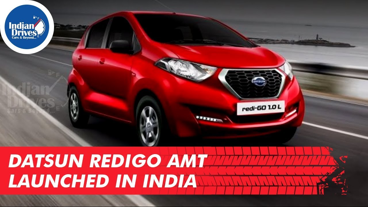Datsun RediGO AMT Launched In India