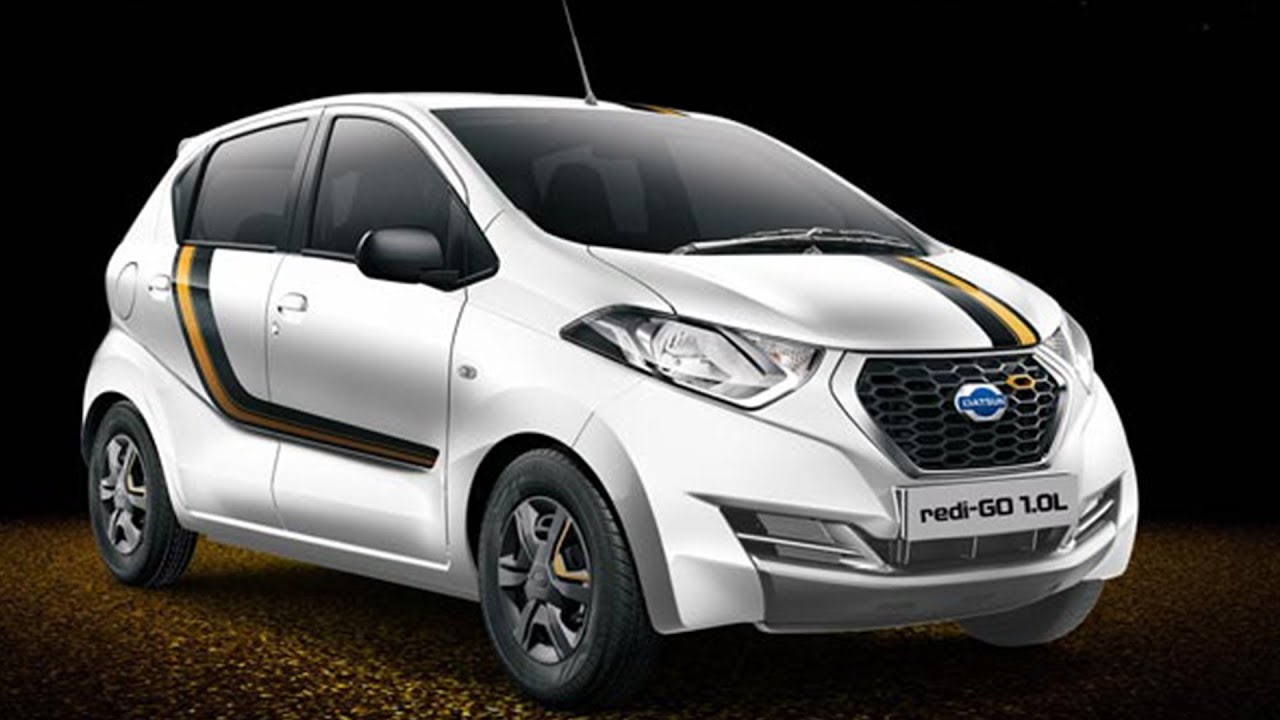 Datsun Redigo Gold 1.0 Launched At Rs 3.69 Lakh