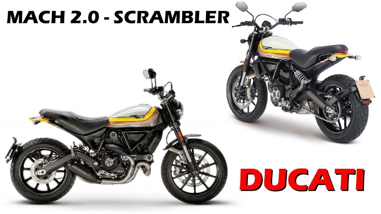 Ducati Scrambler Mach 2.0 Launched In India