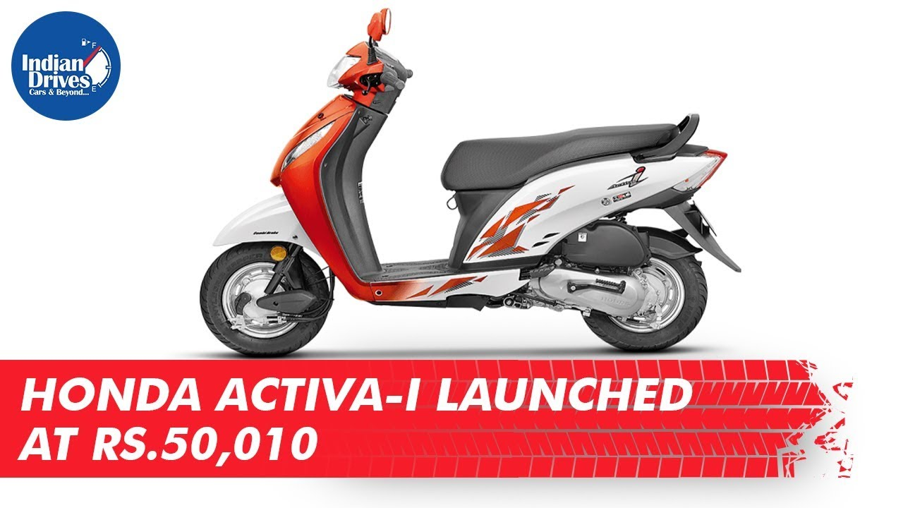 Honda Activa-I Launched At Rs. 50,010