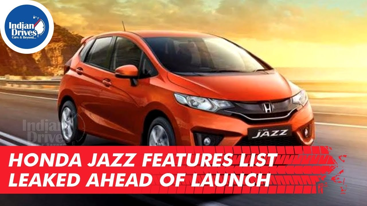 Honda Jazz Features List Leaked Ahead of Launch