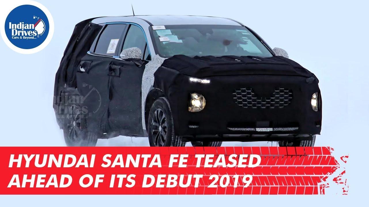 Hyundai Santa Fe Teased Ahead Of Its Debut 2019