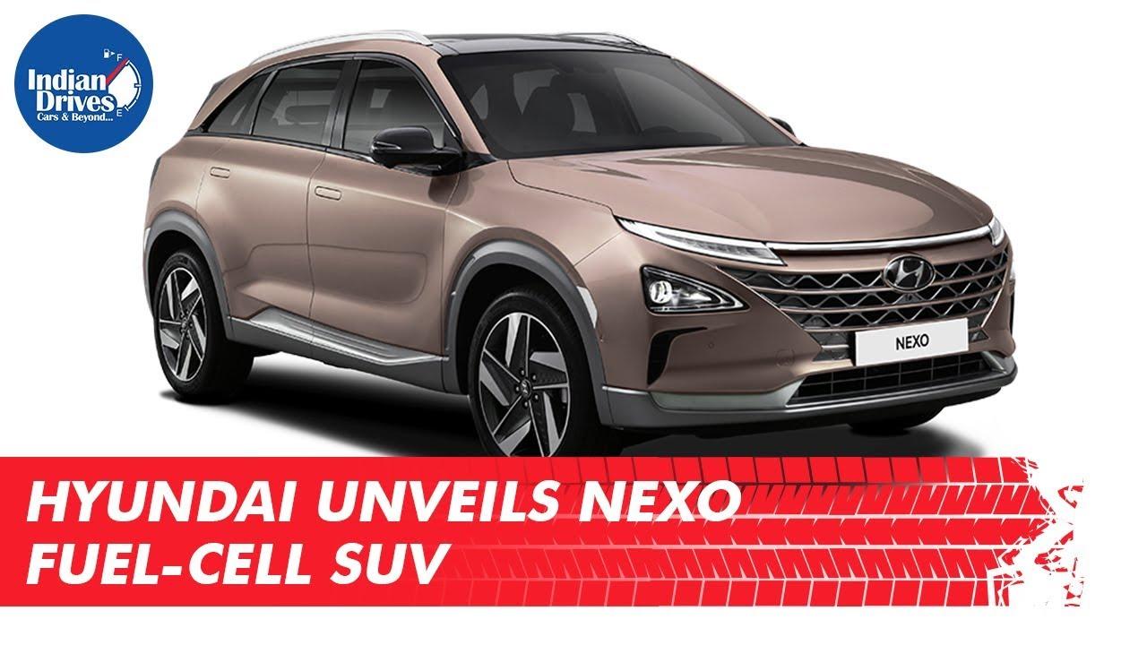 Hyundai Unveils Hyundai Nexo Fuel-Cell SUV