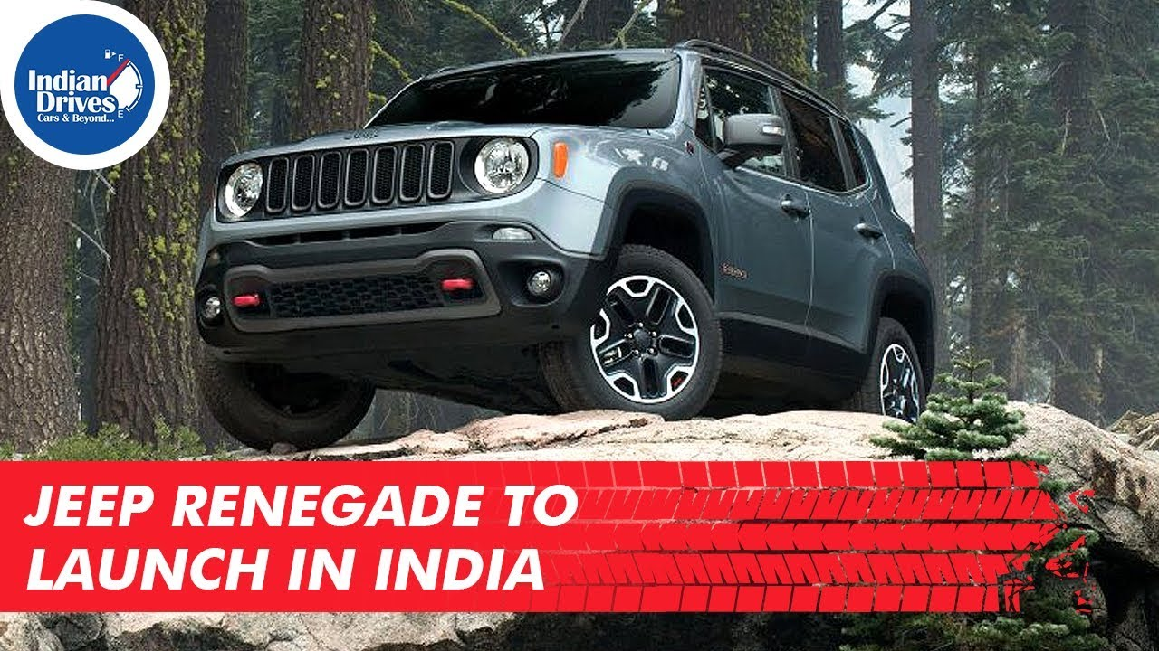 Jeep Renegade To Launch In India