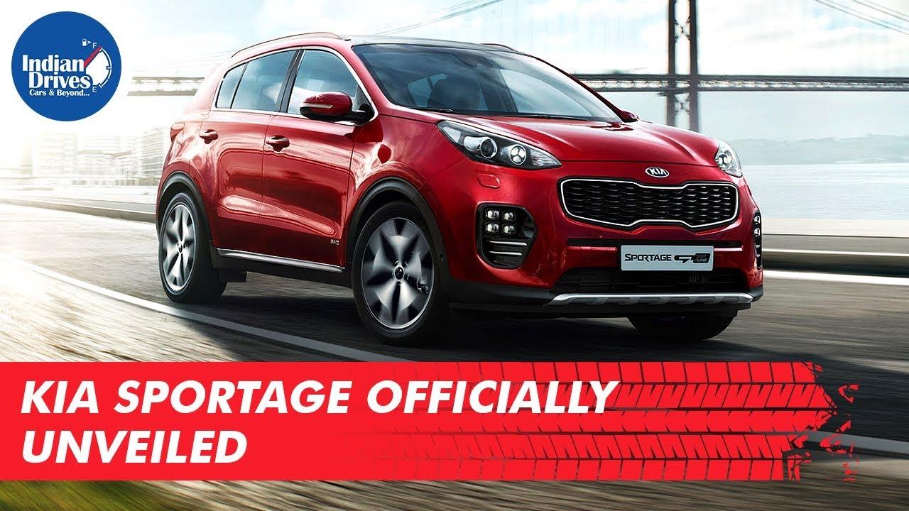 Kia Sportage Officially Unveiled