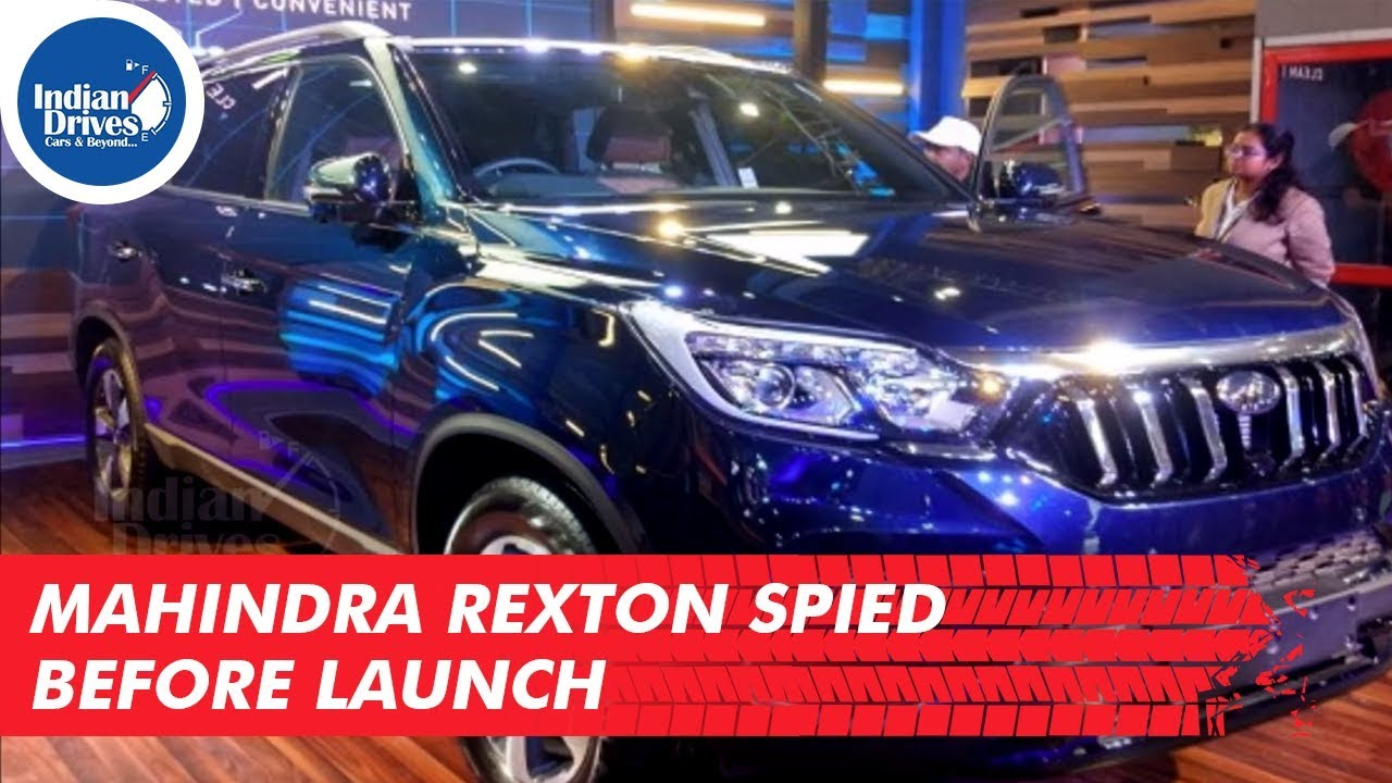 Mahindra Rexton Spied Before Launch