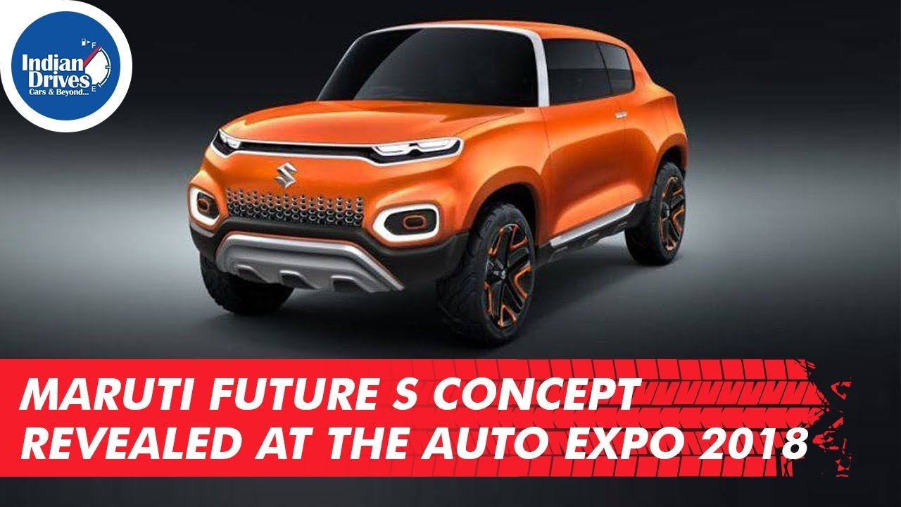 Maruti Future S Concept Revealed At The Auto Expo 2018
