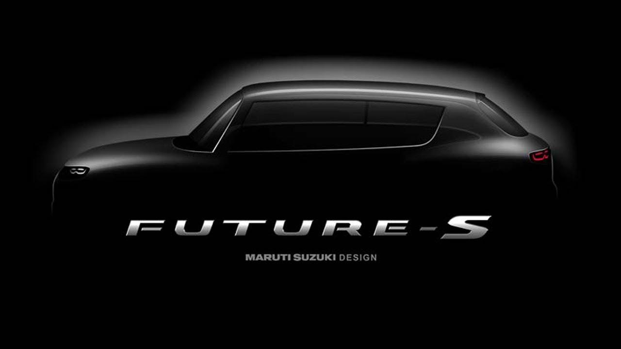 Maruti Suzuki Teases Future S Compact SUV Concept Ahead Of Auto Expo 2018