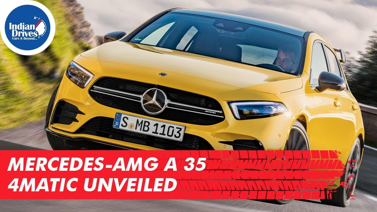 Mercedes-AMG A 35 4Matic Unveiled
