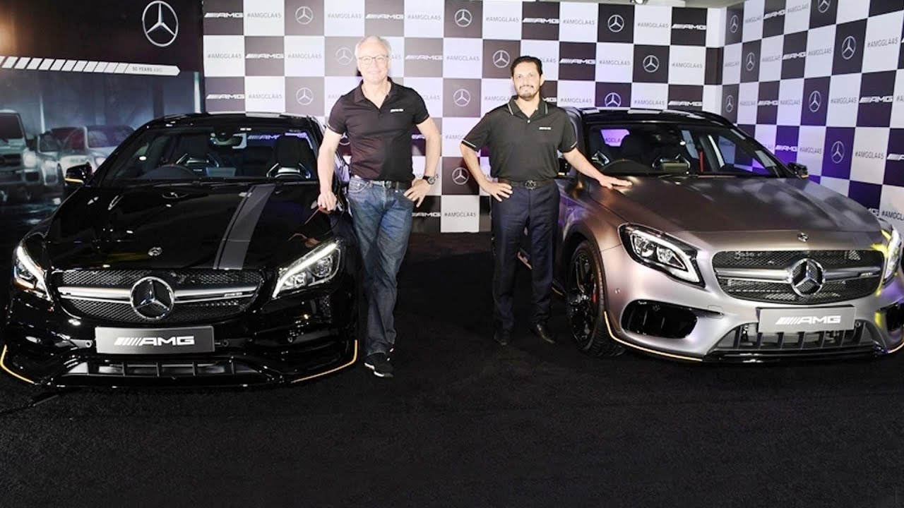 Mercedes AMG GLA, CLA Facelifts Launched In India