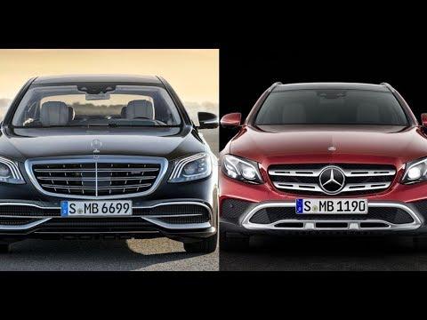Mercedes Benz To Announce Maybach S 650 And E-Class All Terrain Estate Wagon