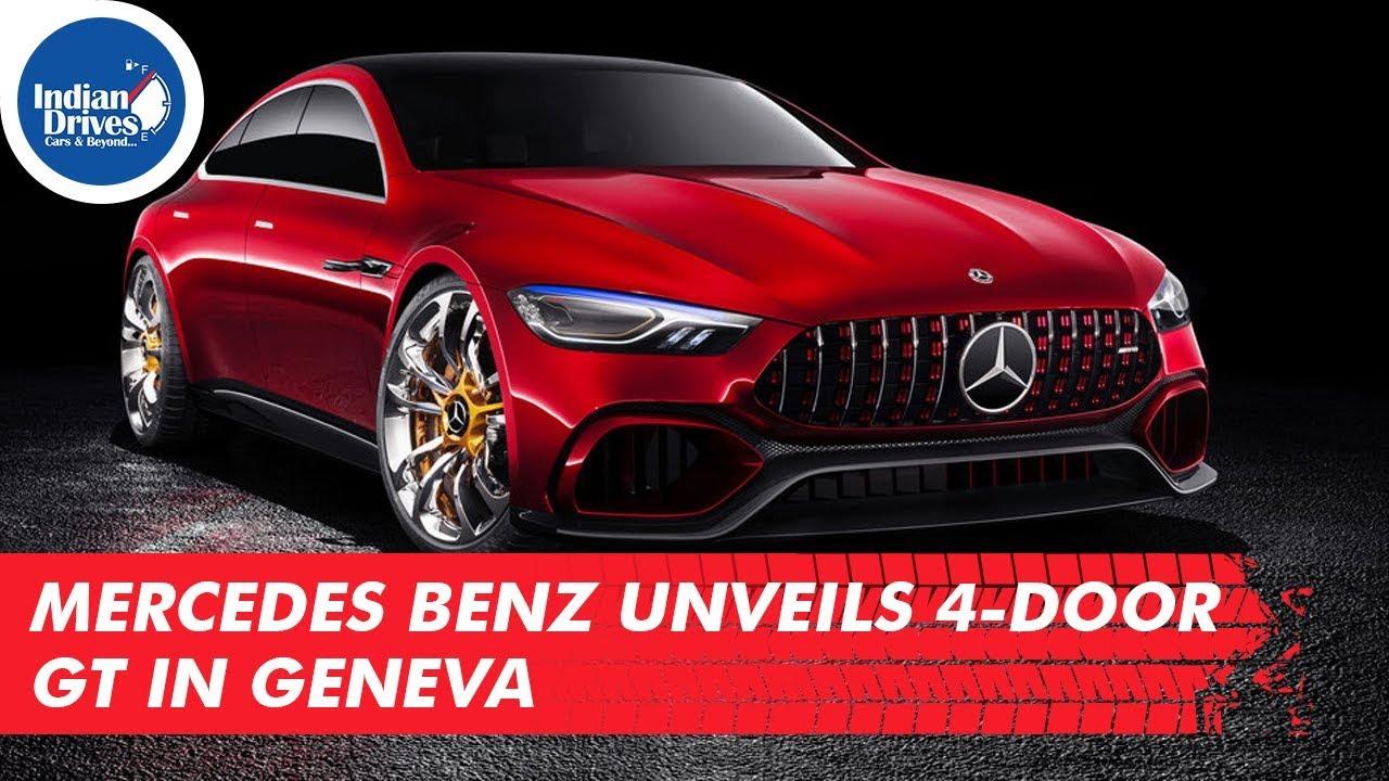 Mercedes Benz Unveils 4-Door GT In Geneva
