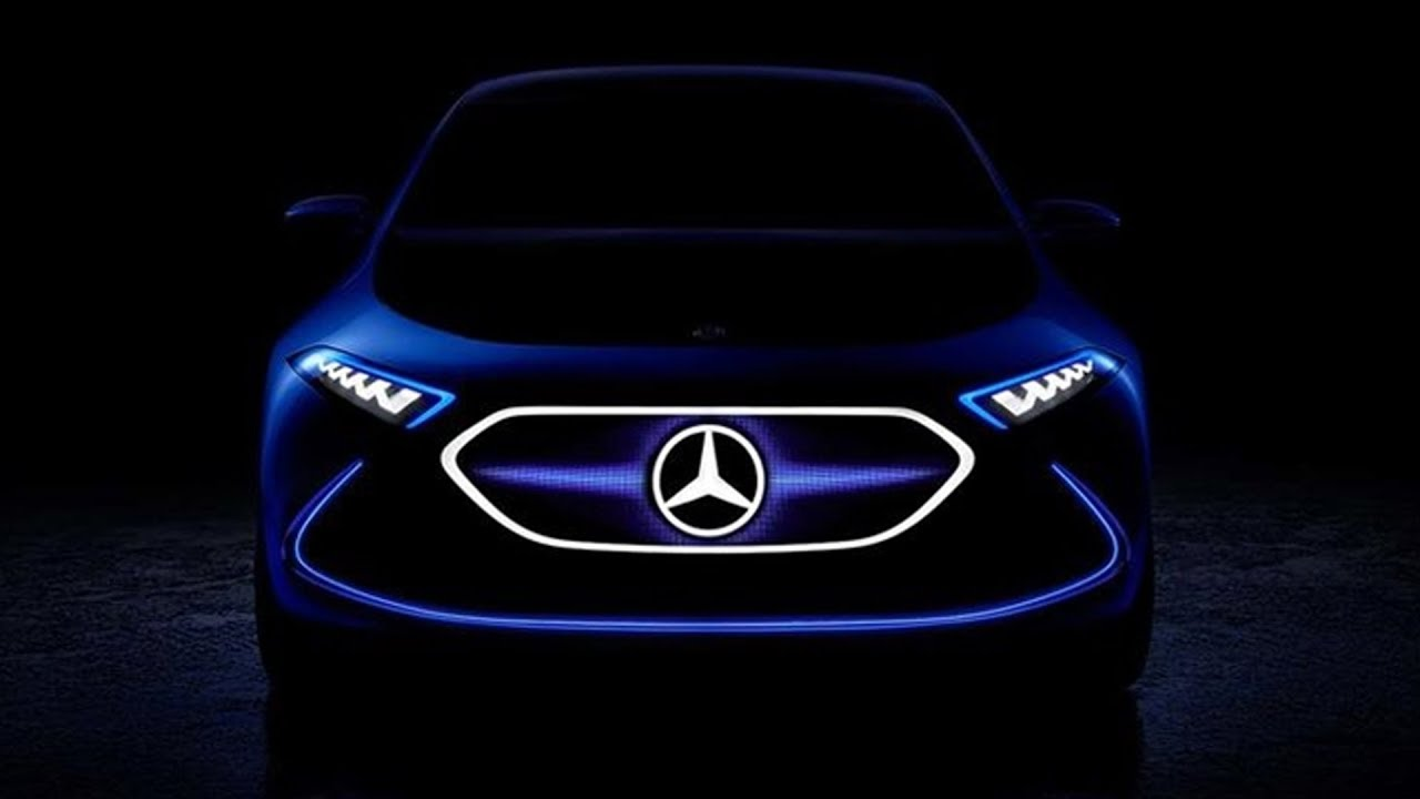 Mercedes EQ A Electric Hatchback Concept Coming To Frankfurt