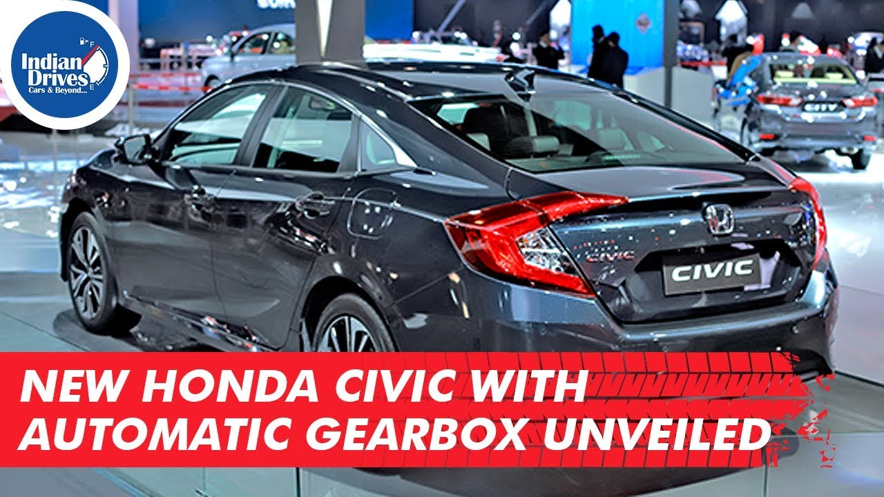 New Honda Civic With Automatic Gearbox Unveiled