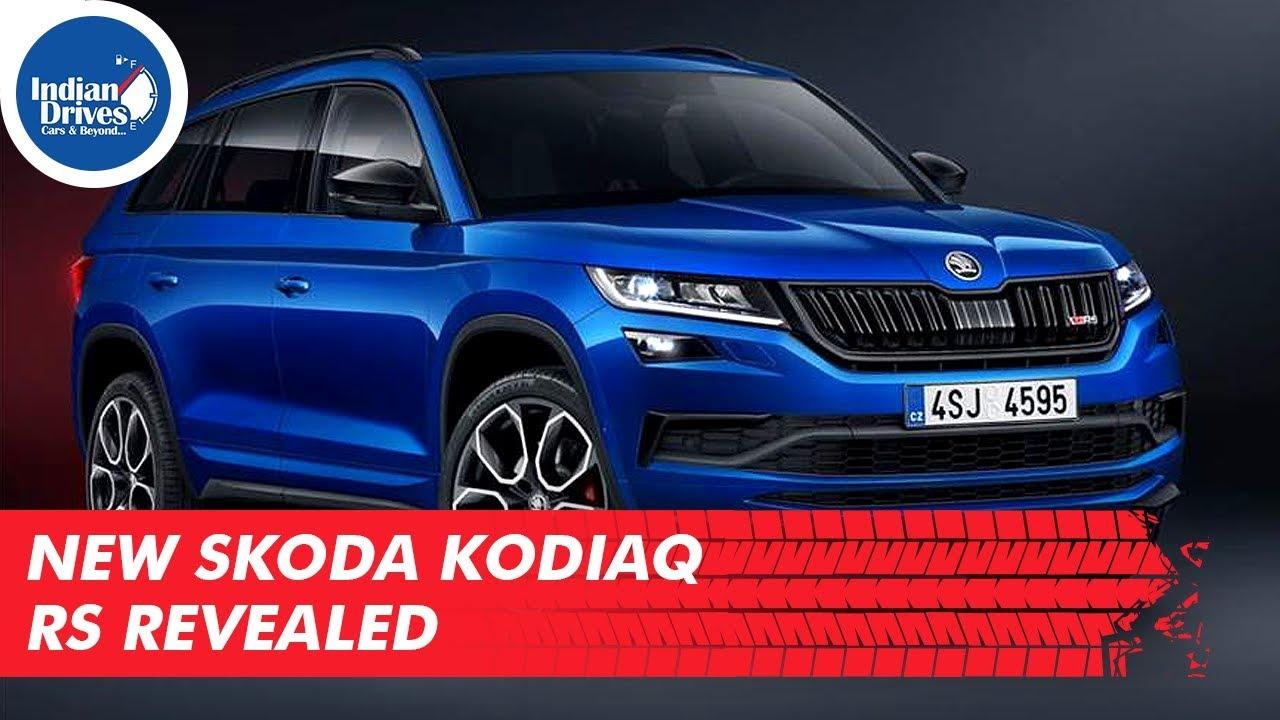 New Skoda Kodiaq RS Revealed