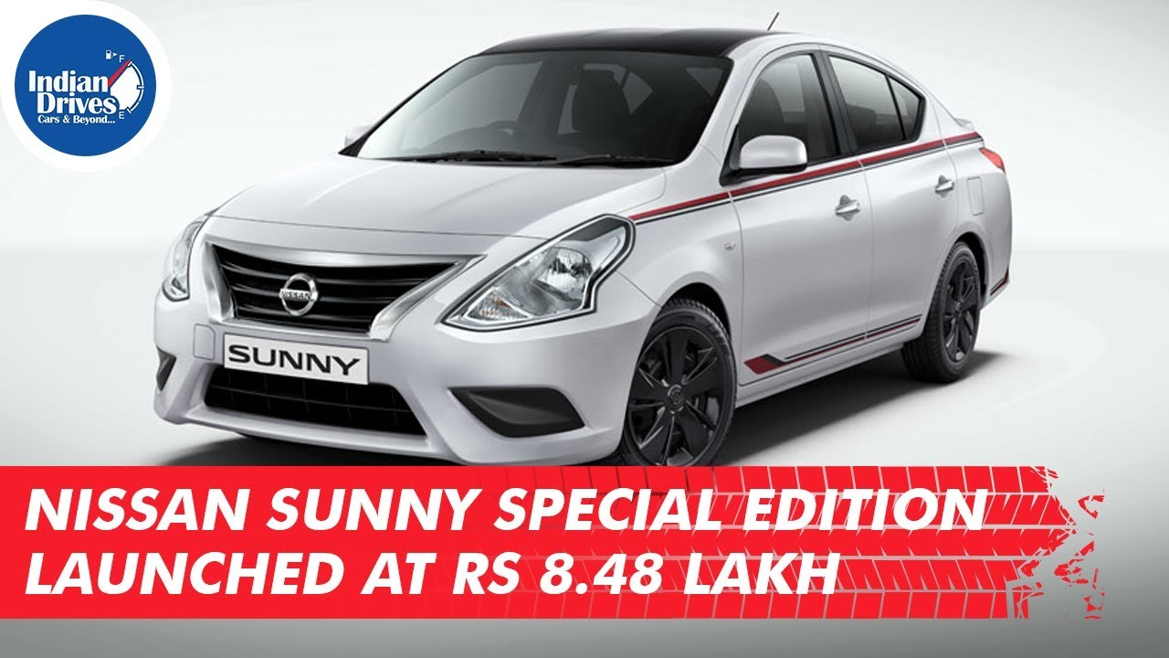 Nissan Sunny Special Edition launched At Rs. 8.48 lakh
