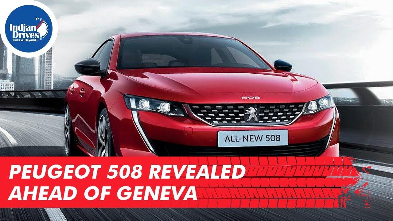 Peugeot 508 Revealed ahead of Geneva