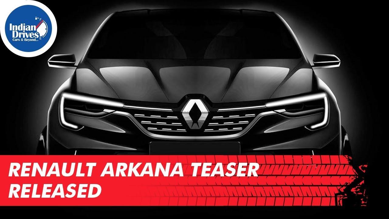 Renault Arkana Teaser Released