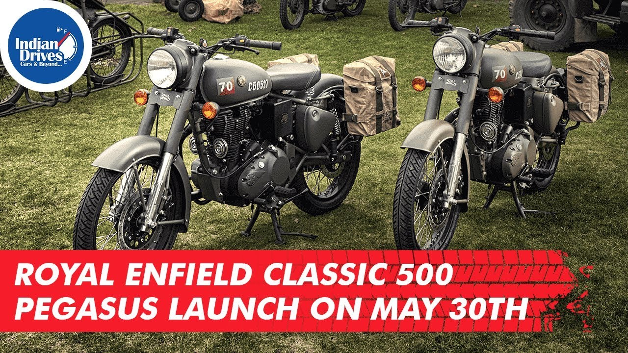 Royal Enfield Classic 500 Pegasus Launch On May 30th