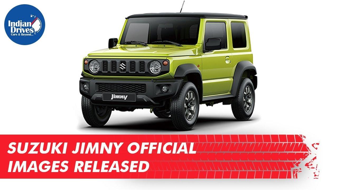 Suzuki Jimny Official Images ReleasedSuzuki Jimny Official Images Released