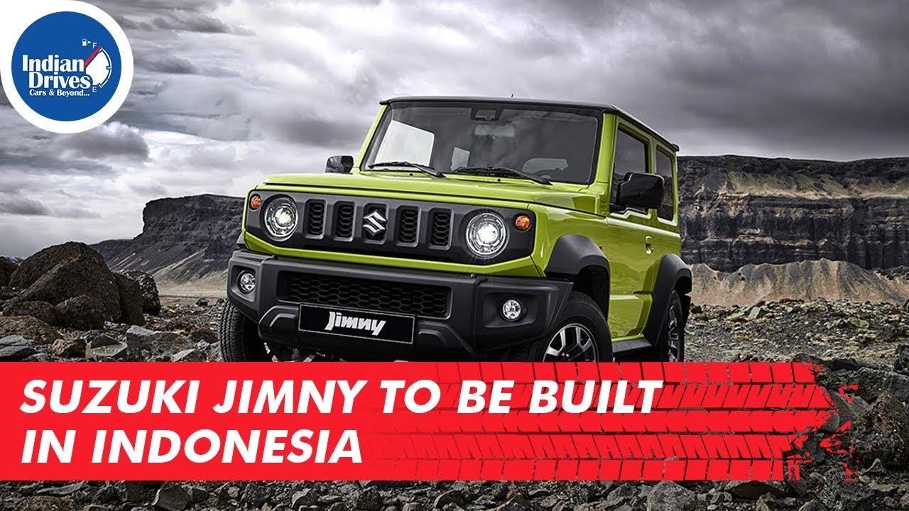 Suzuki Jimny To Be Built In Indonesia