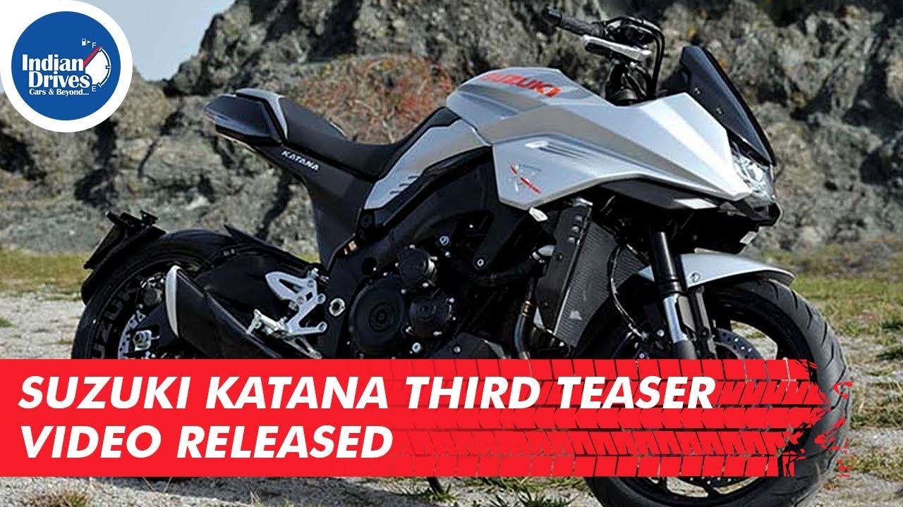 Suzuki Katana Third Teaser Video Released