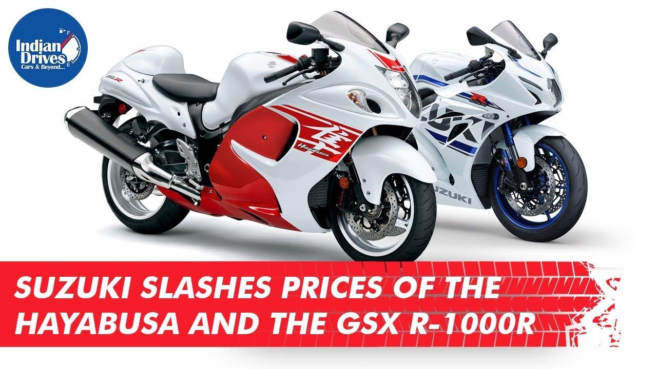 Suzuki Slashes Prices Of The Suzuki Hayabusa And The GSX R-1000R