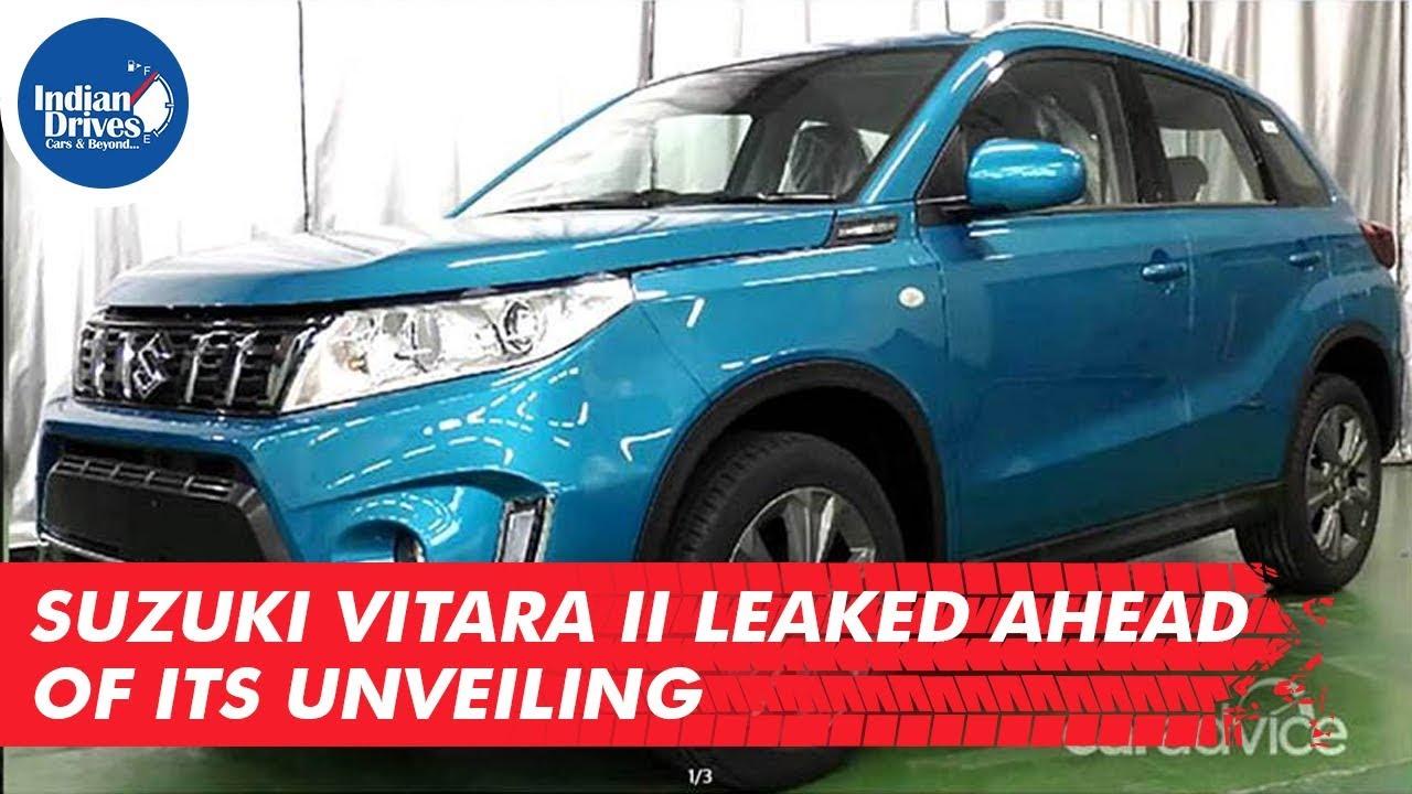 Suzuki Vitara II Leaked Ahead Of Its Unveiling
