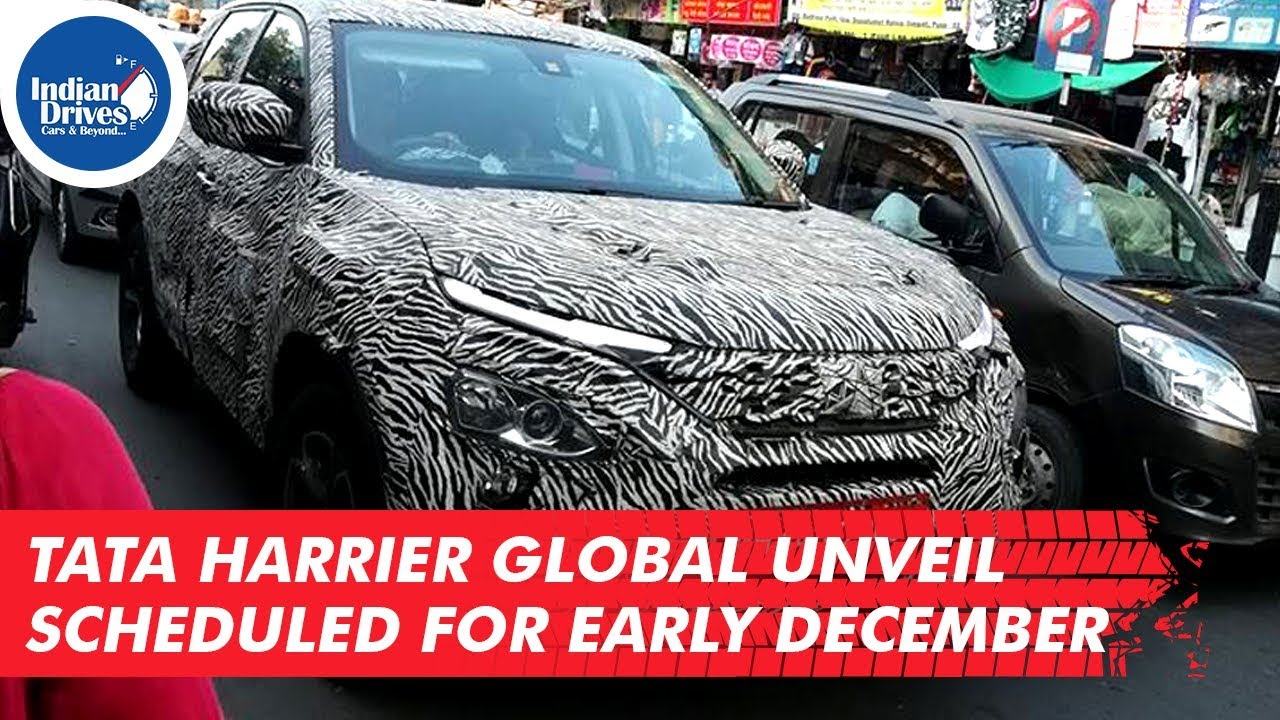Tata Harrier Global Unveil Scheduled For Early December