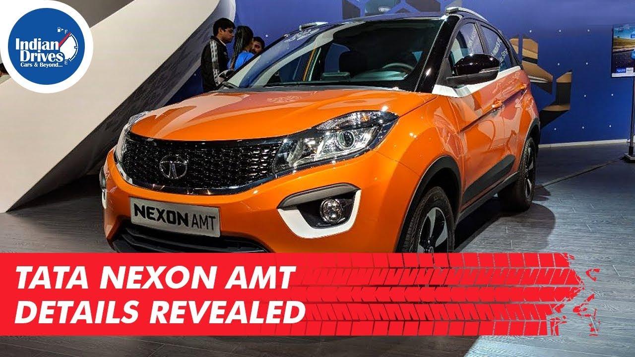 Tata Nexon AMT Details Revealed