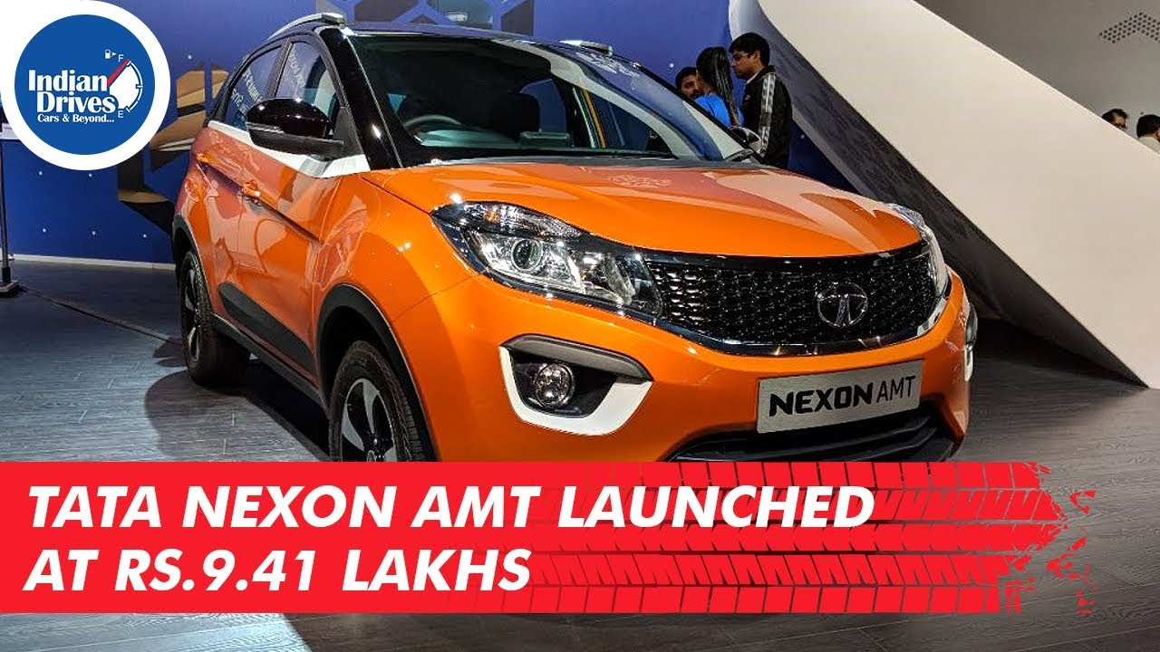 Tata Nexon AMT Launched At Rs. 9.41 Lakhs In India
