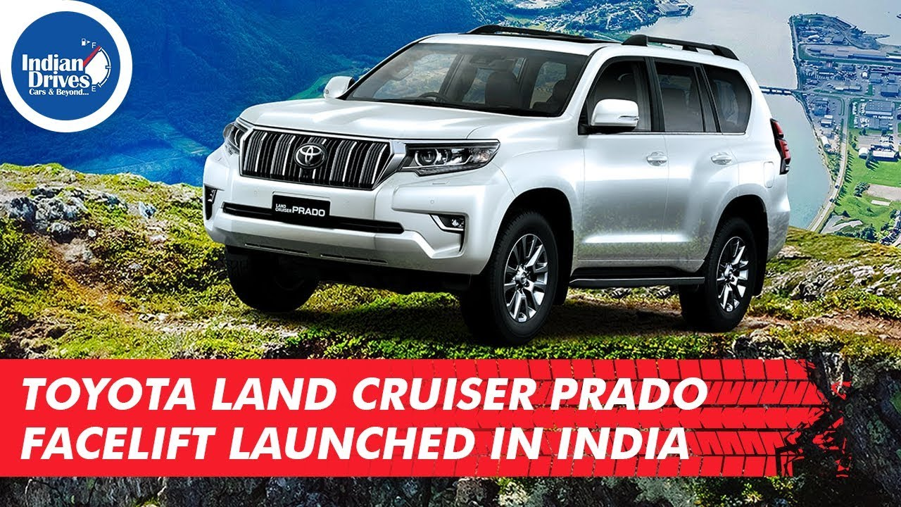 Toyota Land Cruiser Prado Facelift Launched In India