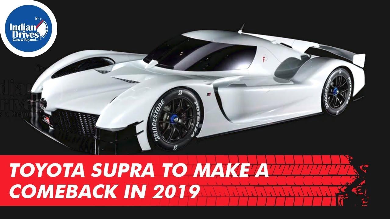Toyota Supra To Make A Comeback In 2019 As Per Reports