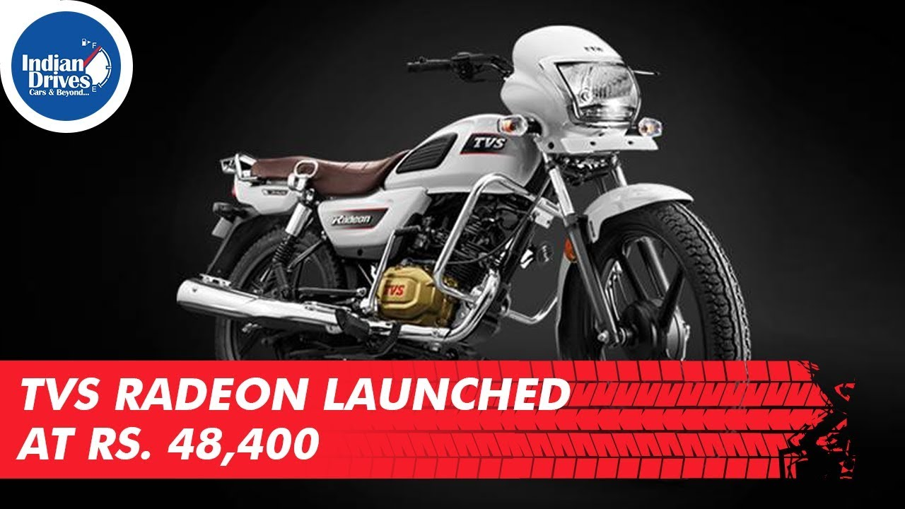 TVS Radeon Launched at Rs.48,400