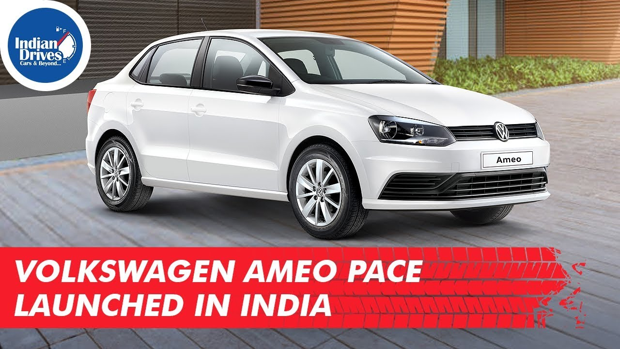 Volkswagen Ameo Pace Launched In India Starting At Rs 6.10 Lakhs