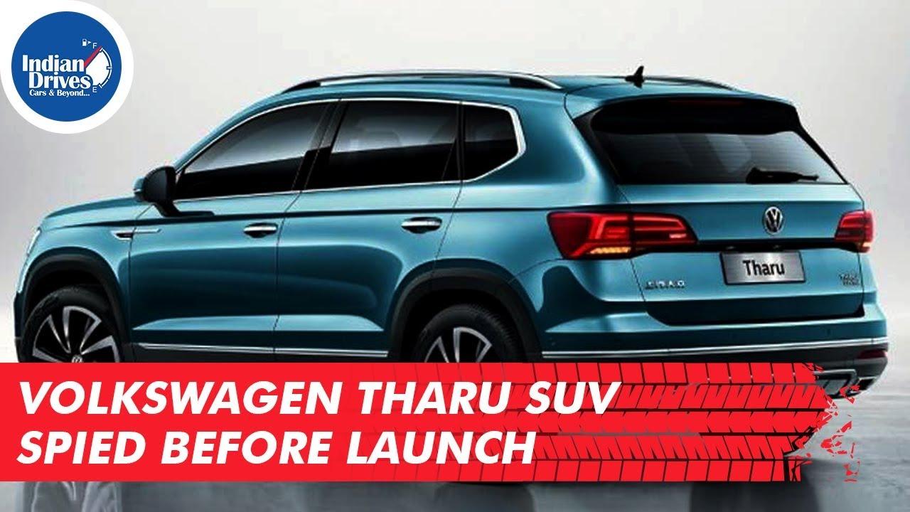 Volkswagen Tharu SUV Spied Before Launch