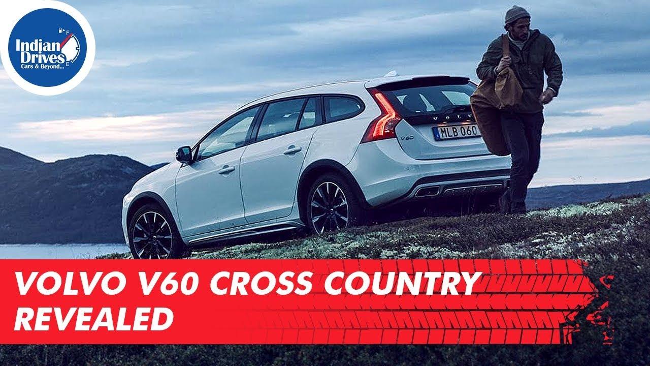 Volvo V60 Cross Country Revealed