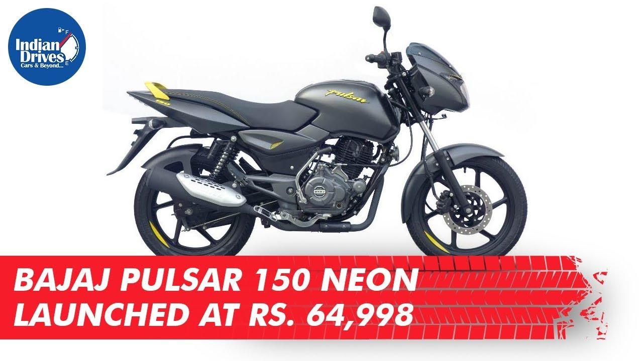 Bajaj Pulsar 150 Neon Launched At Rs. 64,998