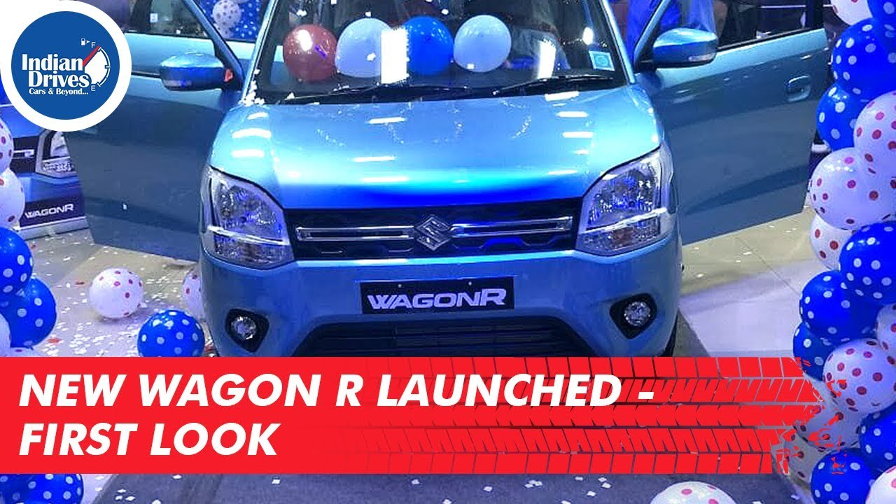 First Look Of New Maruti Wagon R Launched Today