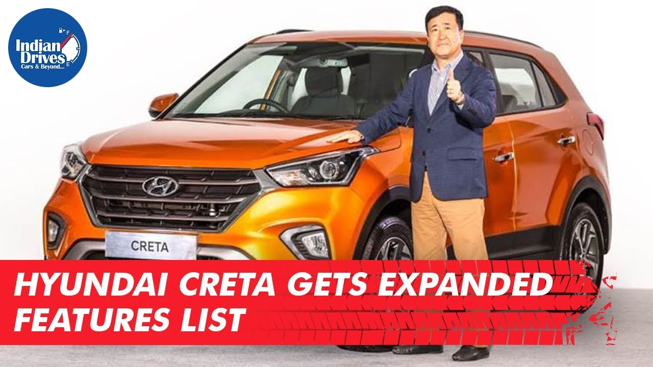 Hyundai Creta SX(O) Gets Expanded Features List