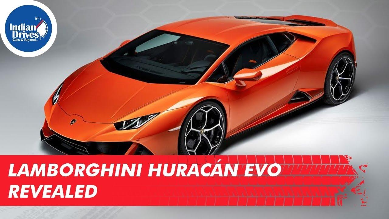 Lamborghini Huracan Evo Revealed